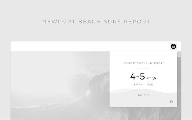 Newport Beach Surf Report