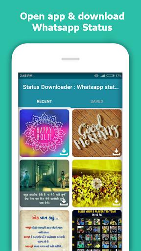 Status Downloader : Whatsapp status video download  screenshots 2