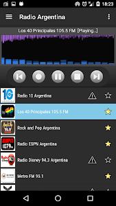 RADIO ARGENTINA screenshot 1