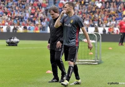 Wilmots fait le point sur les blessés: Vermaelen, Carrasco, Fellaini, Lombaerts