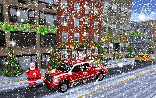 Foto do Christmas Santa Gift Delivery Truck Driving Game