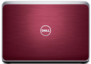 Photo: New Inspiron R laptop (Fire Red). More details here: http://bit.ly/inspironrces2013