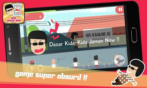Kids Jaman Now Games - náhled
