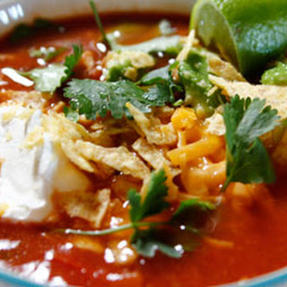 Slow Cooker Mexican Chicken Soup.