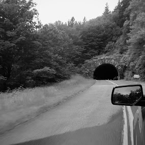 Through the Tunnel by Riddhima Chandra - Transportation Roads