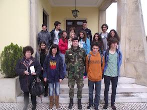 Photo: Major Maia Alves acompanha visita à ESE