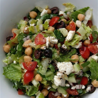 Mediterranean Chopped Salad.
