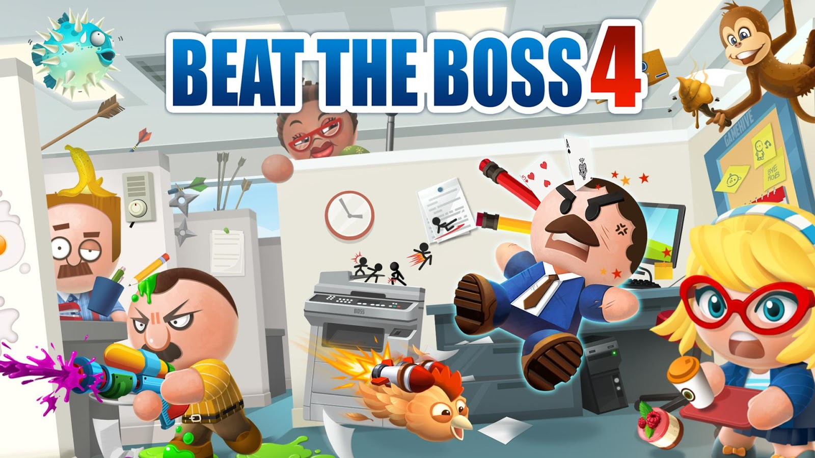 Beat the Boss 4- screenshot