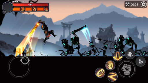 Stickman Master: League Of Shadow - Ninja Fight apkpoly screenshots 3