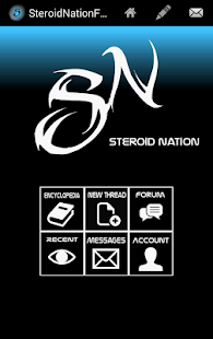 Steroid Nation Forum screenshot
