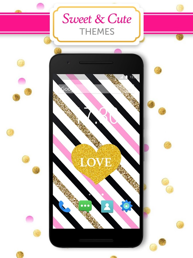 Girly wallpapers backgrounds android apps on google play girly wallpapers backgrounds screenshot voltagebd Images