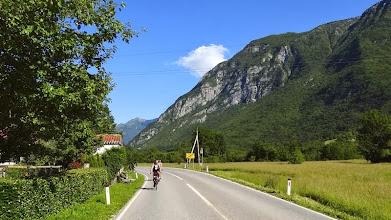 Photo: Das Tal wird breiter. Die Temperaturen steigen auf über 30°C.