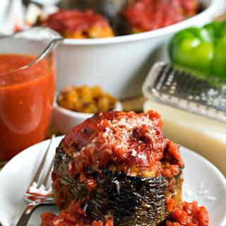 Nanny'S Italian Stuffed Peppers Recipe