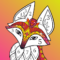 Antistress Coloring By Numbers For Adults icon