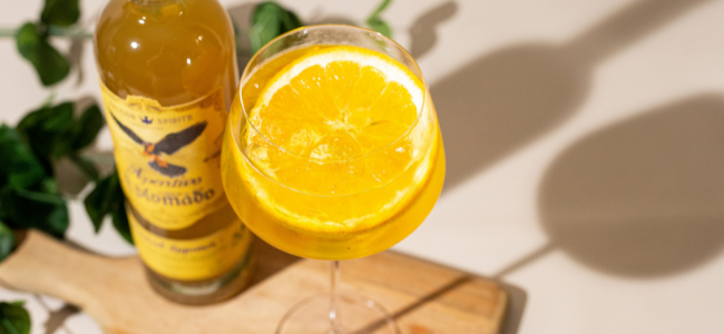 This herbal spin on a Spritz is the perfect after-dinner cocktail.
