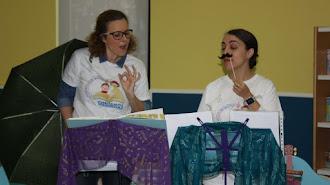 """Taller de Estimulación Musical \""""Contamos y Cantamos\""""en la Biblioteca Villaespesa."""