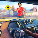 Taxi Cab City Driving - Car Driver icon