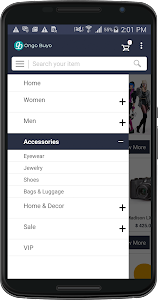Magento Mobile App - OnGoBuyo screenshot 1