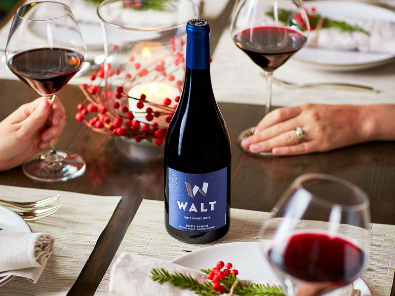 Walt Wine Label