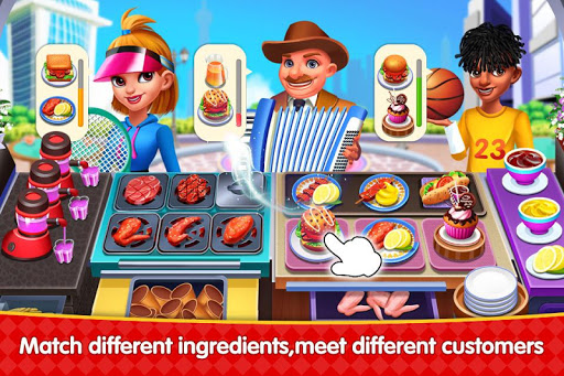 Cooking Square Food Street modavailable screenshots 4