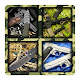 Weapons puzzles: machine guns, pistols and knives APK