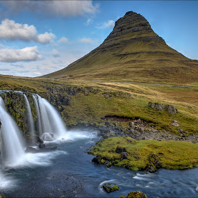 Kirkjufell by Jen St. Louis - Landscapes Travel ( snaefellsnes, mountain, waterscape, waterfall, kirkjufell, iceland, landscape,  )