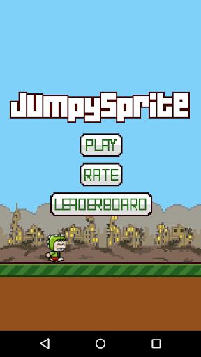 Jumpy Sprite