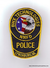 Photo: Babcock and Wilcox Technologies Police, Naval Nuclear Fuel Division