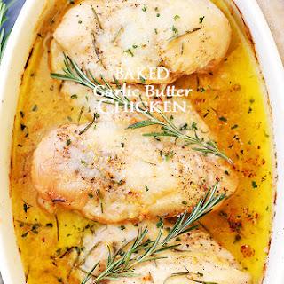 Bake Garlic Butter Chicken Breast Recipes