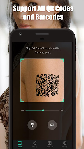 Screenshot for QR Scanner - QR Code Reader & QR Code Generation in United States Play Store