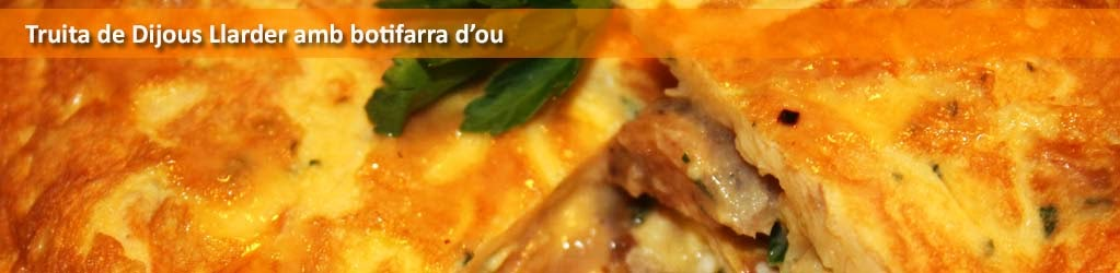 Truita de Dijous Llarder (23 de Febrer) amb botifarra d'ou