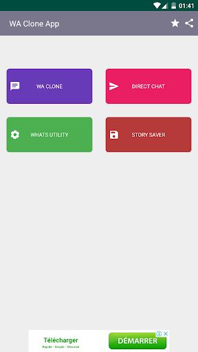 Clone App for whatsapp screenshot 2