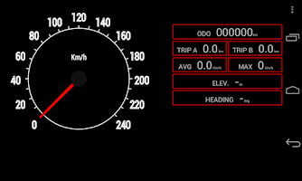 Screenshot of ComBase Speedometer