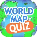 World Map Quiz Geography Game icon