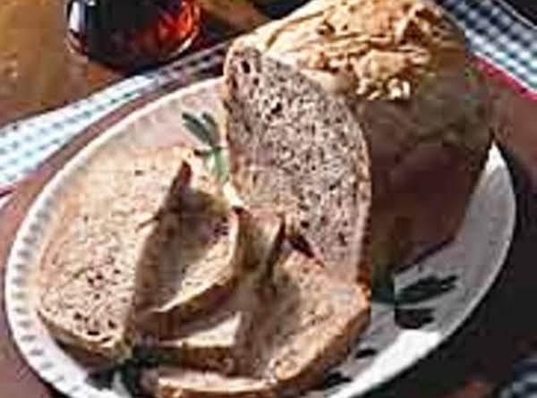 Maple Walnut Bread For Bread Machine