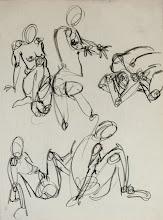 Photo: gesture drawing2 // ~10 seconds per gesture