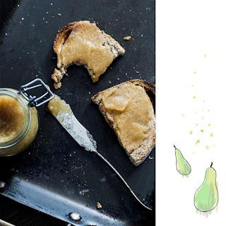 Pear 'n Cardamom (agave) Jam 🍐.
