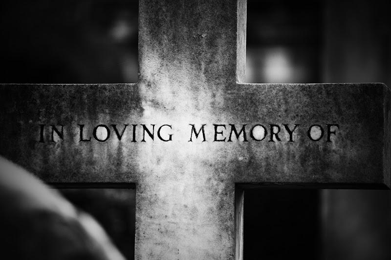 in loving memory of... di Fabrizio Di Giovanni