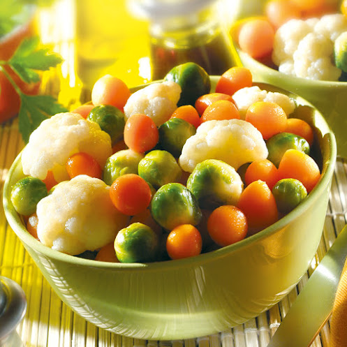 Abbildung Gemüse Tricolore