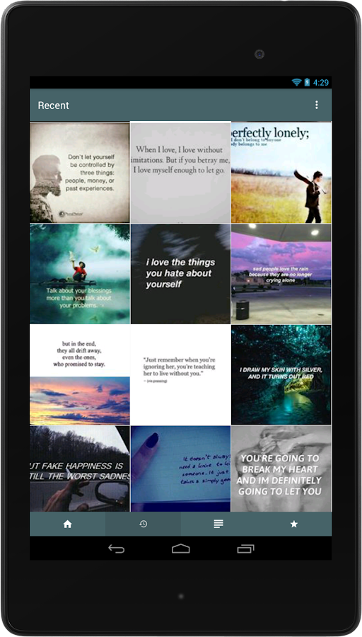 Quotes- screenshot