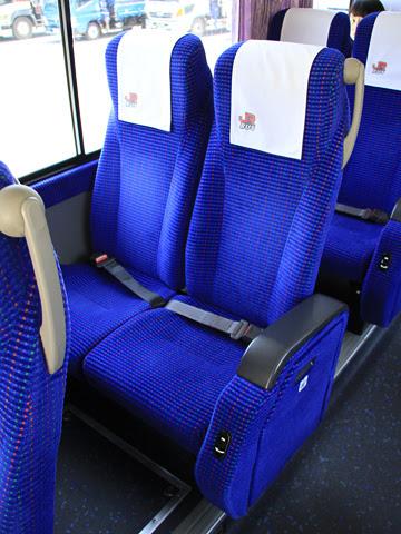 JR九州バス「広福ライナー」 4554 シート