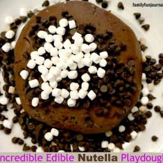 Incredible Edible Nutella Playdough