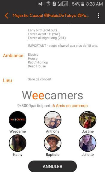 Weecame- screenshot