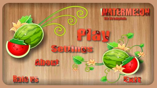 Watermelon Tilt 3D Labyrinth