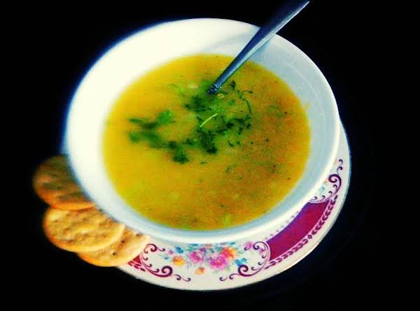 Velvet Cucumber Chicken Soup ...  By Nancy Recipe