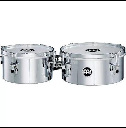 "8"" & 10"" Meinl Drummer Mini Timbales - MIT810CH"