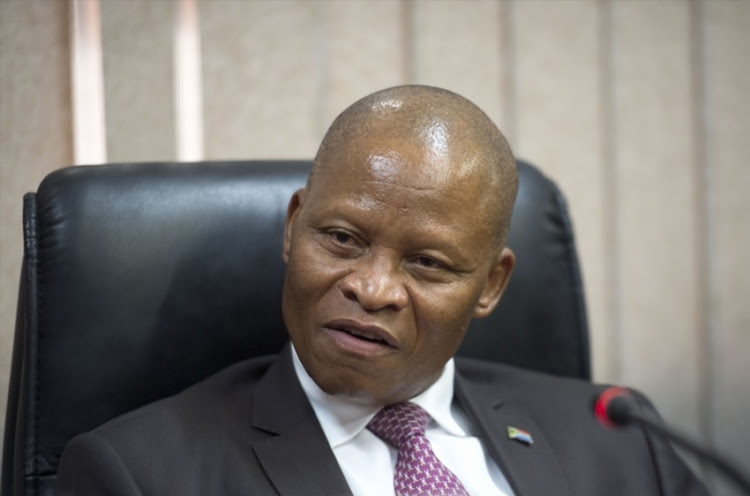 hief Justice Mogoeng Mogoeng during his visit at the Pretoria Magistrate's Court on March 02, 2017 in Pretoria, South Africa. Mogoeng says touring the courts helps him stay in touch with problems and challenges in the practical implementation of justice.