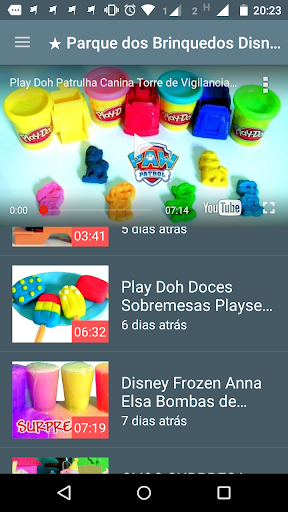 Kids TV para YouTube 2.0 screenshots 1