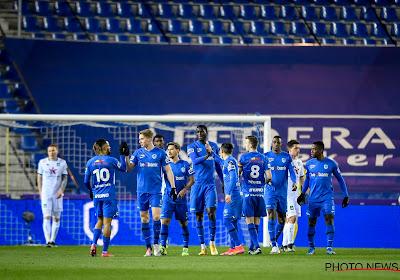 KRC Genk neemt dankzij sterke eerste helft vlot de maat van tienkoppig Cercle Brugge