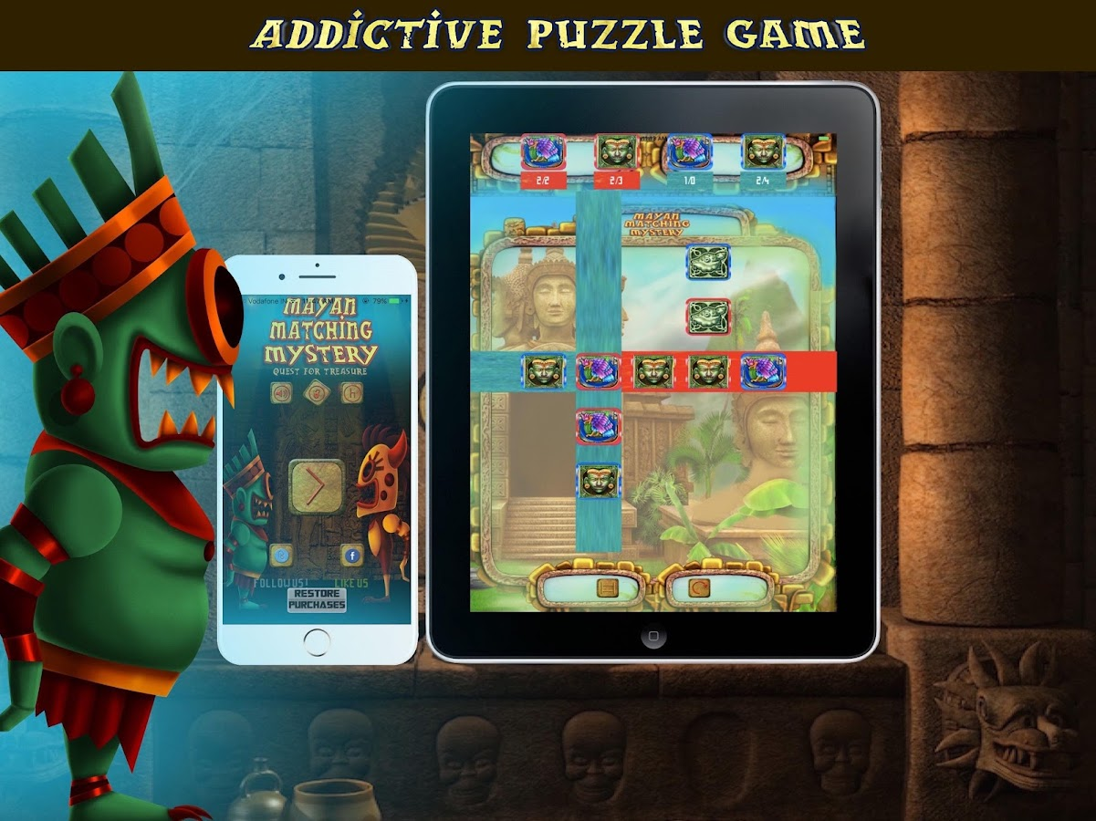 Mayan Matching Mystery- screenshot